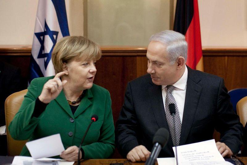 Netanyahu&Merkel