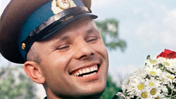 RussianCosmonautYury-Gagarin