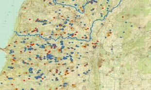 Map1000HezbollahMilitarySitesSLebanon