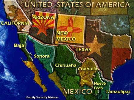 MexicoUSBorderStates
