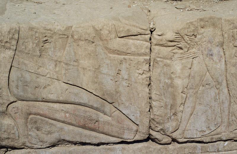 Circumcision_Precinct_of_MutAncient Egyptian carved scene of circumcision