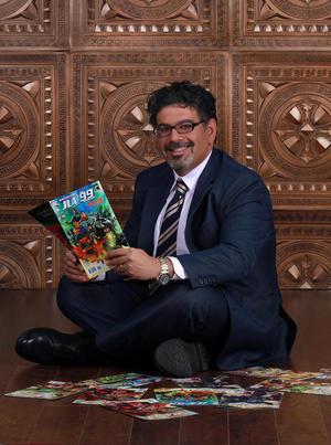 MuslimComicBookAuthorNaifAl-Mutawa
