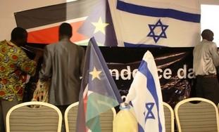 SouthSudan&IsraelFlags