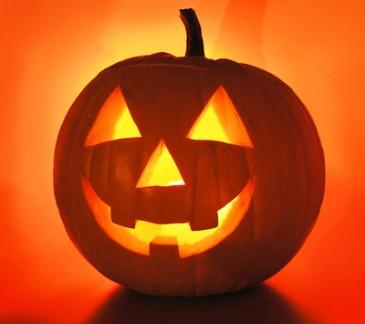 HalloweenPumpkinLitUp
