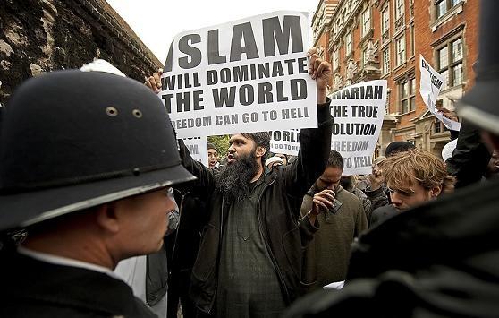 MuslimProtestersLondon