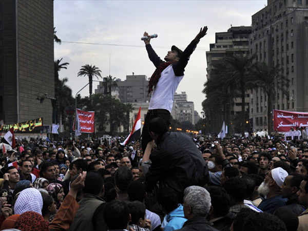 EgyptiansInCairoProtestAgainstCountry'sRulingMilitaryCouncilTahrirSquareNov2011