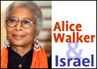 Alice Walker and Israel